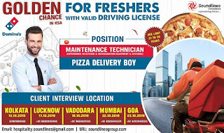 Dominos Golden Chance for Freshers