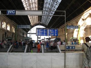 Budapest Keleti train station