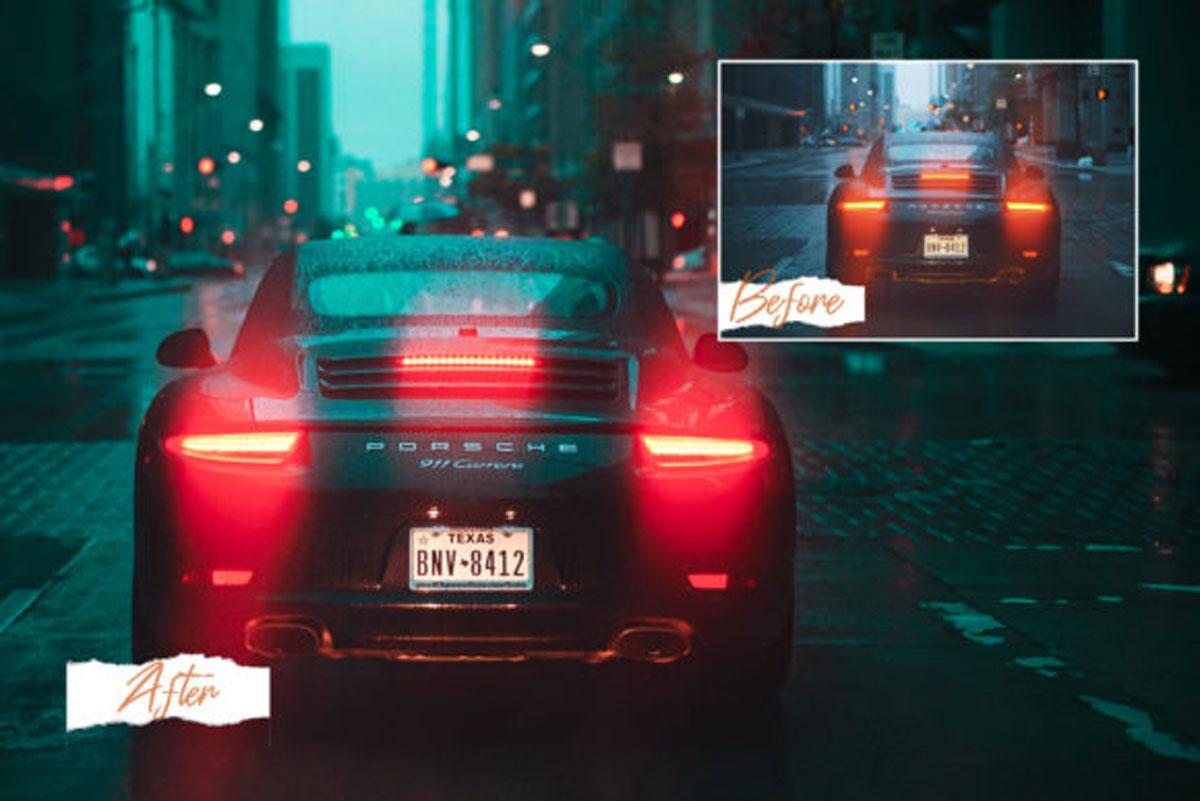15 Automotive Mood Lightroom Presets V.2 4570092..