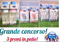 Logo Grande concorso Canpol Babies: vinci gratis Biberon, porta ciuccio e set posate