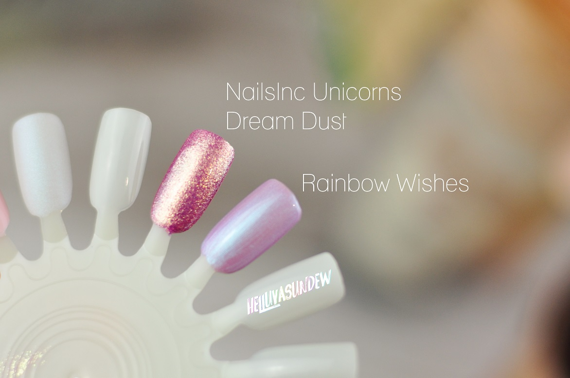 Nails Inc Beauty of Dreams Deluxe Unicorn Beauty Gift Set Review ...