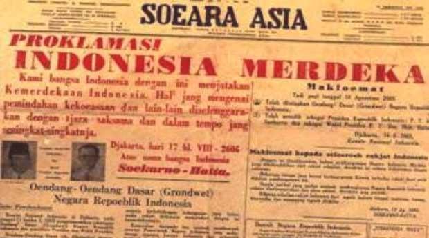 berita kemerdekaan soeara asia