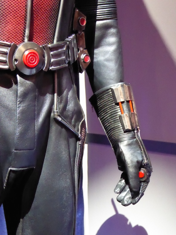 AntMan glove costume detail