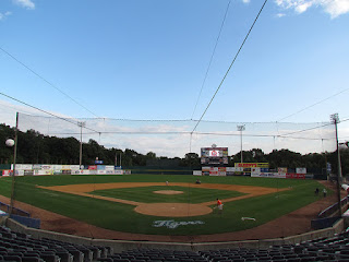 Home to center, Dodd Stadium