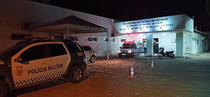 Homem é ferido com golpes de faca durante briga ao lado do mercado público de Grossos