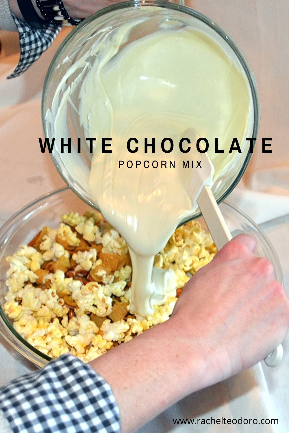 chocolate popcorn snack mix