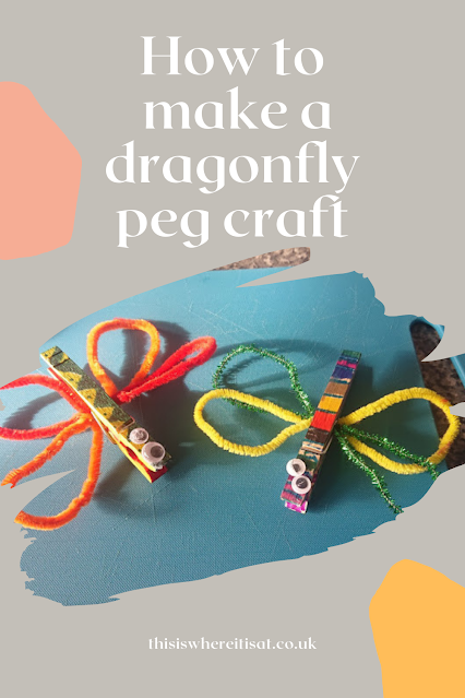 How to make a dragonfly craft