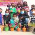 प्रतिभा भारती ने घर-घर पौधरोपण अभियान का किया श्रीगणेश