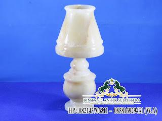 Kap Lampu Hiasan Rumah, Model Kap Lampu Minimalis, Kap Lampu Batu Alam