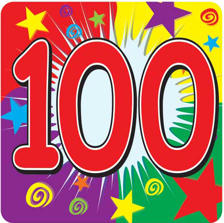 The 'Word Thoughts' Blog: Post 100 (Hundred) 100 Century