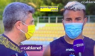 Danilo Campos: «Στόχος μας το πρωτάθλημα»