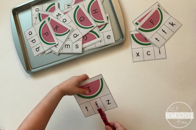 uppercase-and-lowercase-letter-matching-for-kids-free-printable