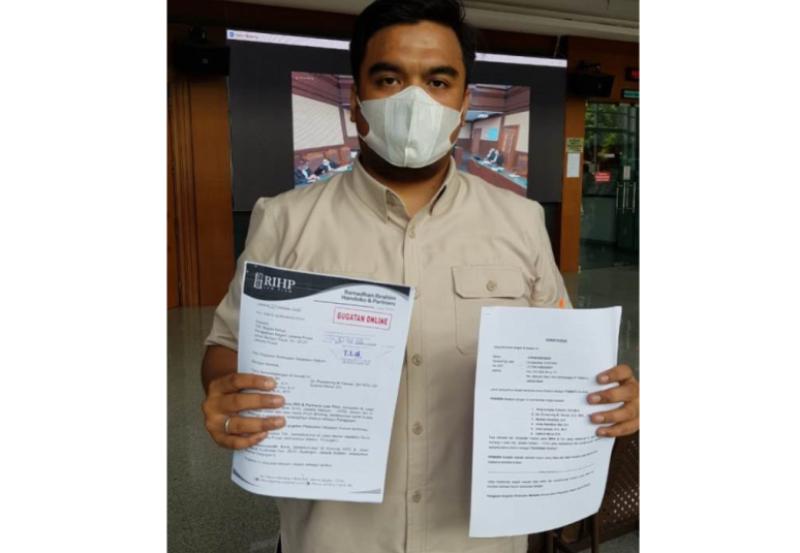 Kantor Hukum RIH & Partners Law, Firm Gugat PT Indosat Ooredoo Tbk dan PT Commonwealth Bank