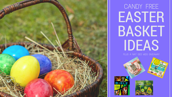 Candy free easter basket ideas plus a natgeokids giveaway negle Gallery