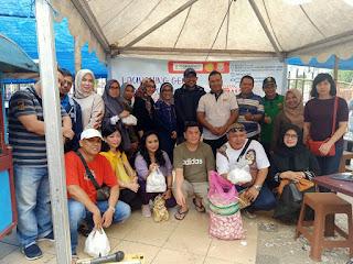Kegiatan Launching Bawang Murah Tim Satgas Pangan Dihadiri Oleh Dirreskrimsus Polda Jambi