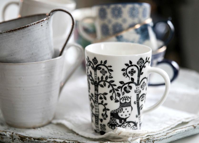 kahvi, kahvimuki, Iittala, Tuias, Indiska