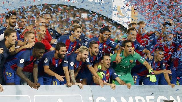 Campeão Supercopa da Espanha 2016