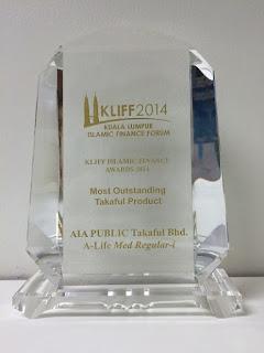 Anugerah KLIFF AIA Public Takaful 2014
