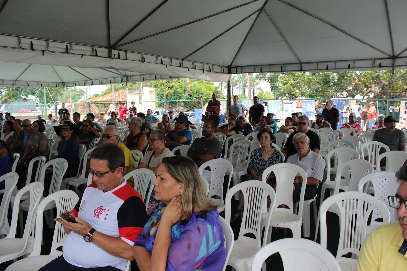 IMG 2835 - Novo administrador do Paranoá, Sergio Damasceno, começa seu primeiro dia de trabalho no Domingo ouvindo a comunidade local.