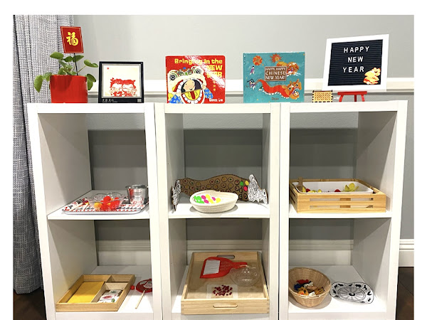 Chinese New Year Shelf