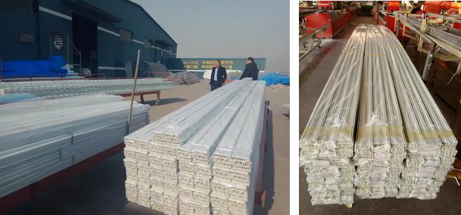 inspeksi produk pengapalan upvc ke luar negeri