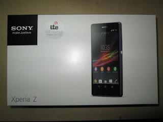 Dus Hape Sony Xperia Z LTE