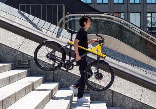 Tinuku VanMoof launches Electrified X bike in Tokyo