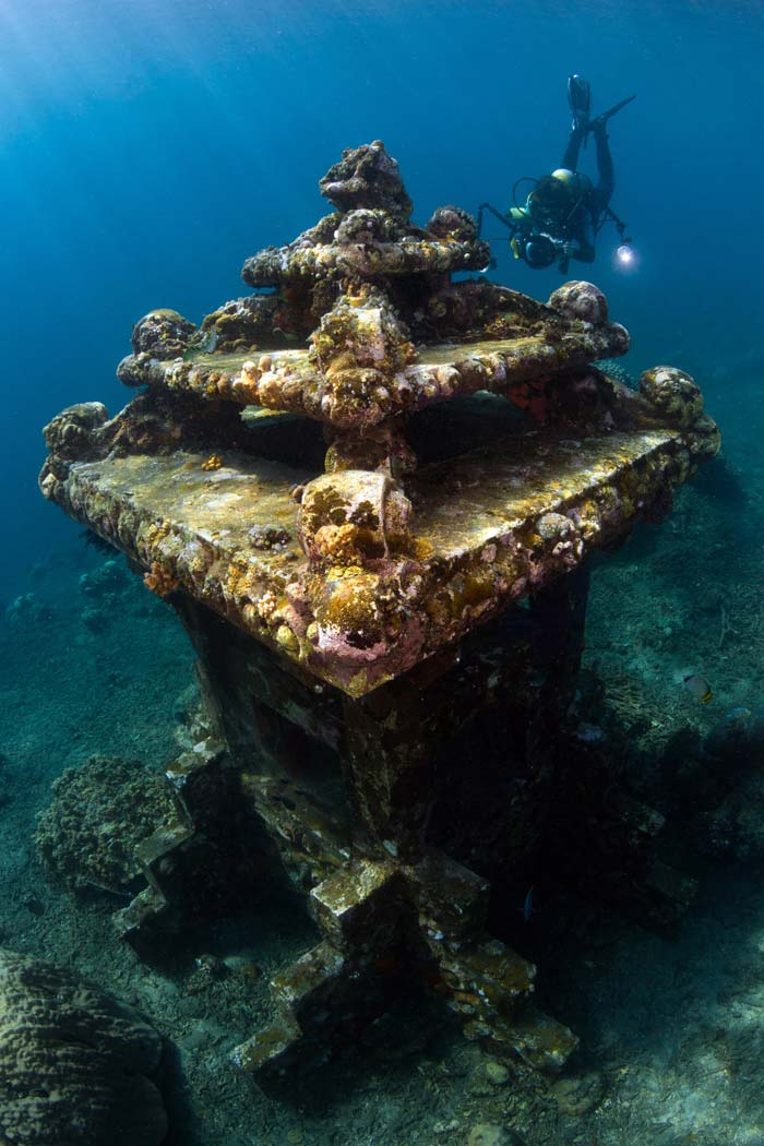 Amed Beach Underwater Diving Spot