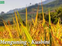 Lirik Lagu Wajib Padi Menguning Ciptaan Kusbini