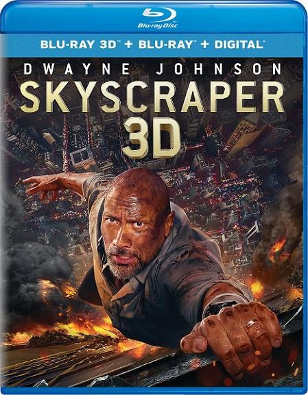 Skyscraper 3D (Rascacielos: Rescate en las alturas 3D) (2018) m1080p BDRip 3D Half-OU 17GB mkv Dual Audio Dolby TrueHD ATMOS 7.1 ch