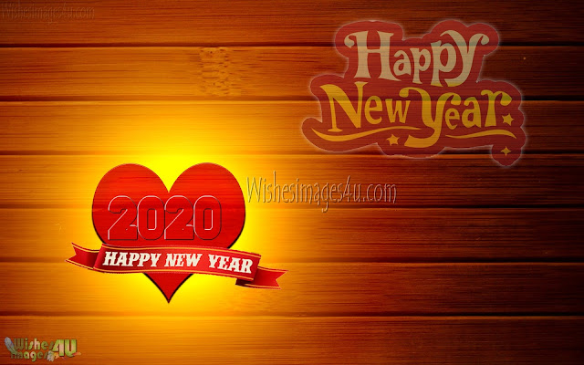 New Year 2020 HD Love Wallpapers