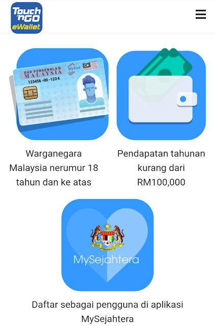 Kredit RM50 DI E-WALLET