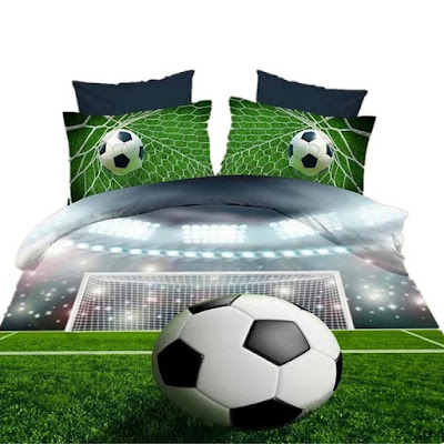 Football Field Bedroom Sheets