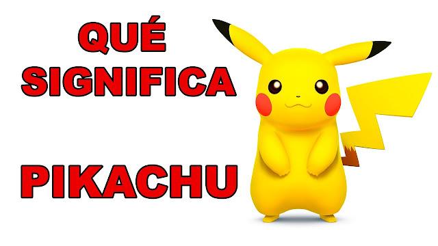 O que é o Pikachu: