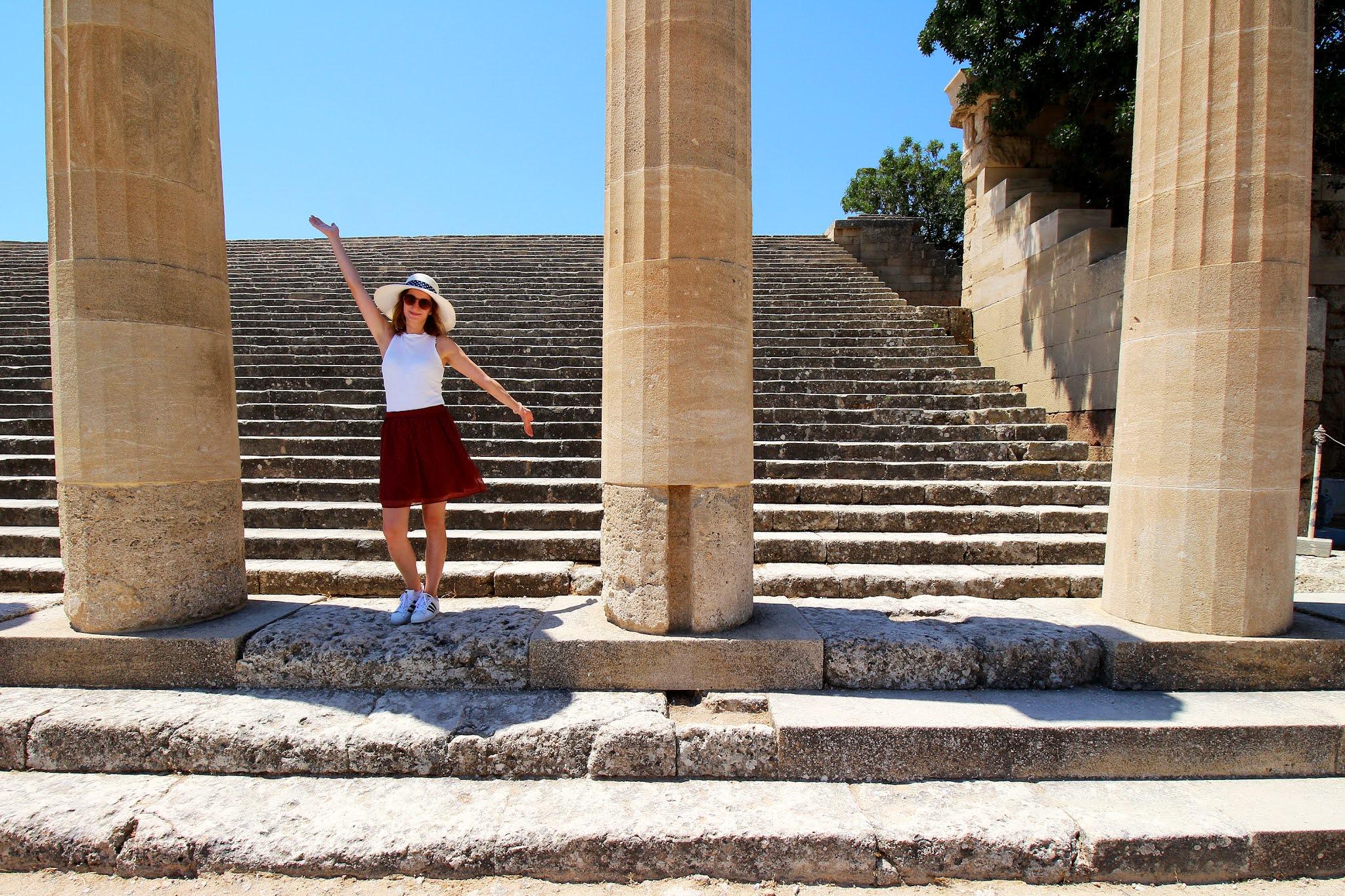 Lindos, otok Rodos, Grčija