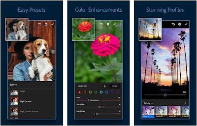 Aplikasi edit foto aesthetic