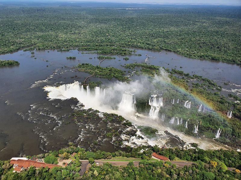 Sobrevoo Cataras do Iguaçu