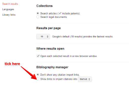 how to advance search on google scholar