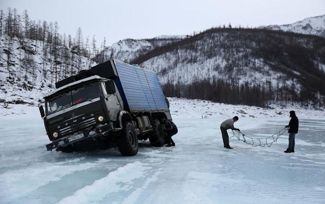 Kolyma Highway, Russia