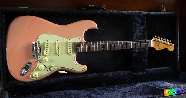 Shell Pink Fender Stratocaster