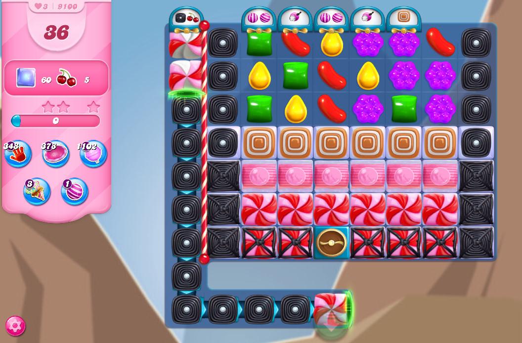Candy Crush Saga level 9100