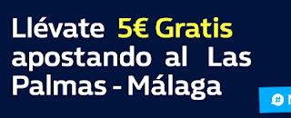 william hill promocion Las Palmas vs Malaga 5 febrero