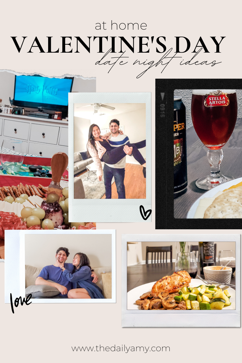 at home valentine's day date night ideas