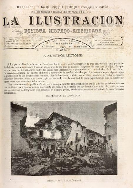 Terremoto de Andalucía de 1884.