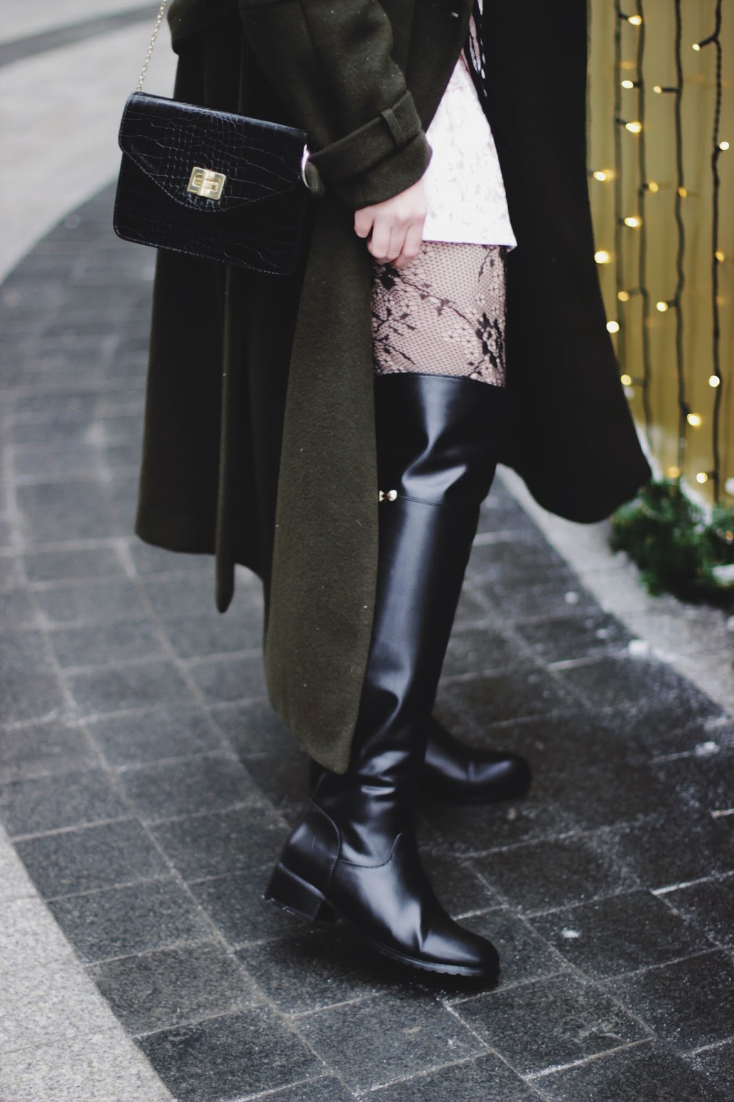 Over The Knee Boots Styling | Fashion Blogger