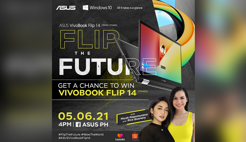 Win the all-new ASUS VivoBook Flip 14, here's how