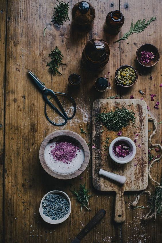 The Witch's Corner: Magickal Herbs
