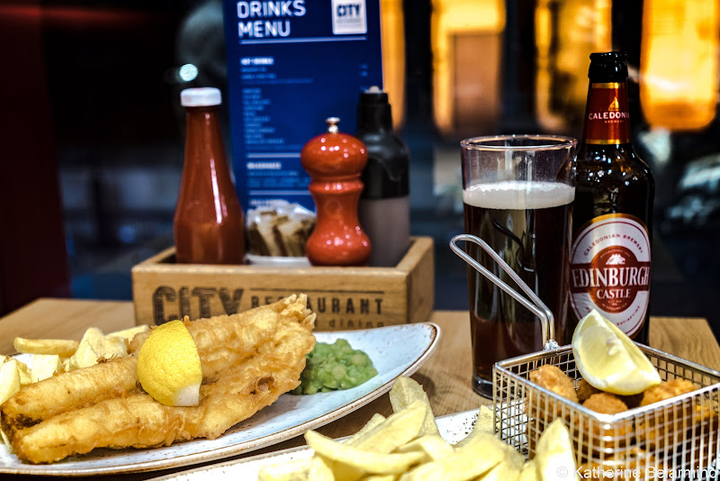 City Restaurant Fish and Chips and Scampi Edinburgh Restaurants Royal Mile