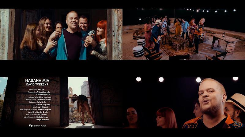 David Torrens - ¨Habana Mía¨ - Videoclip - Director: Luis Lago. Portal Del Vídeo Clip Cubano. Música cubana. Cuba.