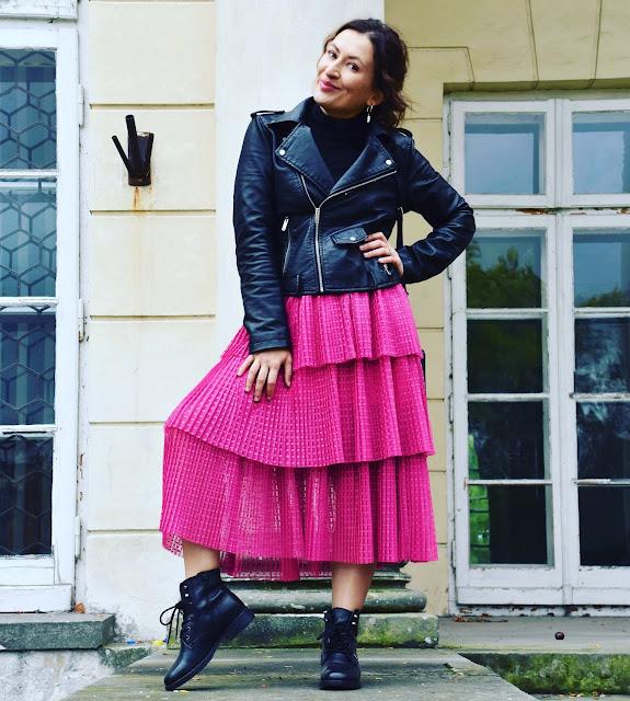 Fuchsia Na-kd Skirt